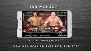 BEAST MODDER - NEW PSP FOLDER 2K18 FOR SVR 2011 - FOR ANDROID (PPSSPP)