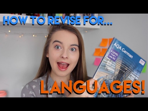HOW TO REVISE: LANGUAGES! | GCSE, A Level, and  General Tips and Tricks!