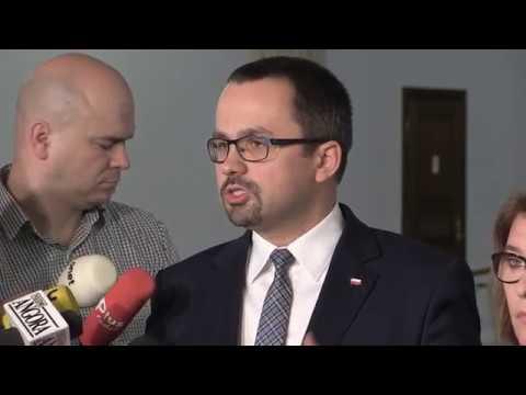 B. Mazurek, M. Horała, Ł. Schreiber – Briefing prasowy Posłów PiS w Sejmie