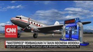 'Masterpiece' Pembangunan 74 Tahun Indonesia Merdeka