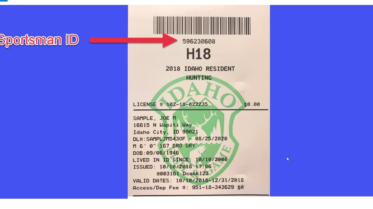 Licenses, tags, and permits | Idaho Fish and Game