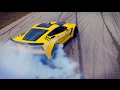C7 Z06 Corvette drifting