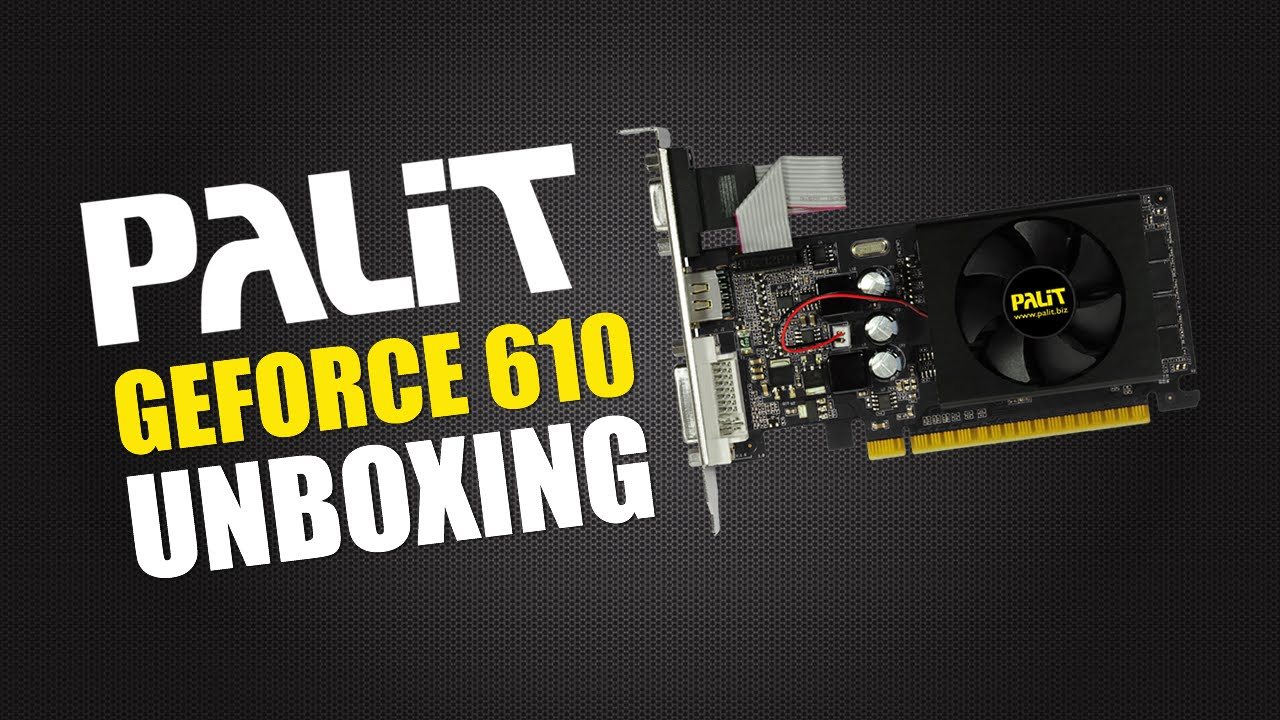 PALIT GT 610 DRIVER DOWNLOAD