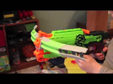 Nerf Zombie Strike Crossfire Bow Hands-On Review