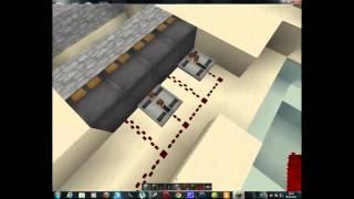 как построить подъёмный мост в minecraft
