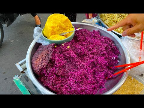 Bí quyết nấu món xôi lá cẩm để có màu tím rịm không phải ai cũng biết