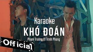 karaoke  kho doan - pham truong ft trinh phong