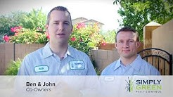 Simply Green Pest Control Exterminator Company in Chandler Arizona
