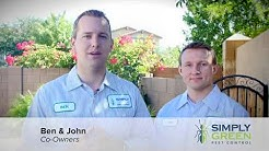 Simply Green Pest Control Exterminator Company in Chandler Arizona
