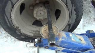 Утро добрым не бывает.  Как открутить прикипевшие колесные гайки.