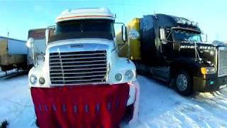 Дальнобой по ДВ, рейс на Сахалин, декабрь 2017