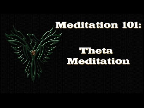 Meditation - Introduction To Theta Meditation - Meditation 101 Series