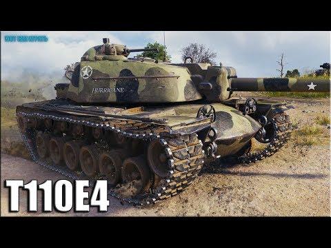 Лучший Дамагер Недели T110E4 World of Tanks