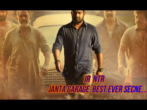 Janta garage south Indian movie best sene...