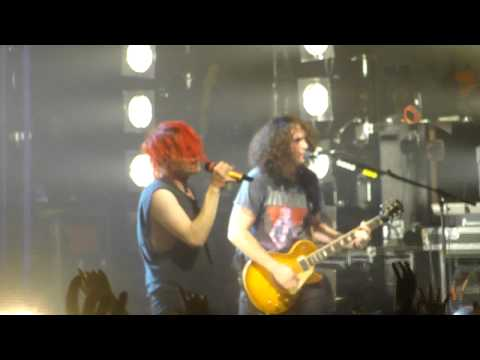 My Chemical Romance - end of Famous Last Words at Hammersmith Apollo