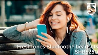 Philips in-ear Bluetooth® headsets SHB5250, SHB5900 & SHB5950 | Philips Sound