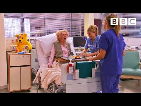 Catherine Tate's Nan returns as Holby City's worst ever patient! - BBC Children in Need: 2013 - BBC