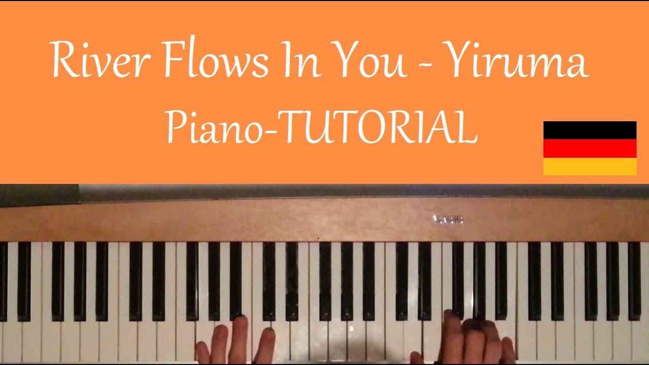 partitura yiruma river flows in you piano pdf