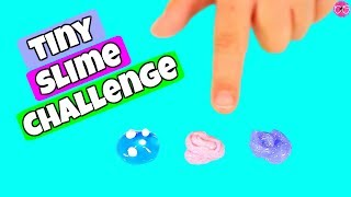 Tiny Slime Challenge * Making Mini Slimes!