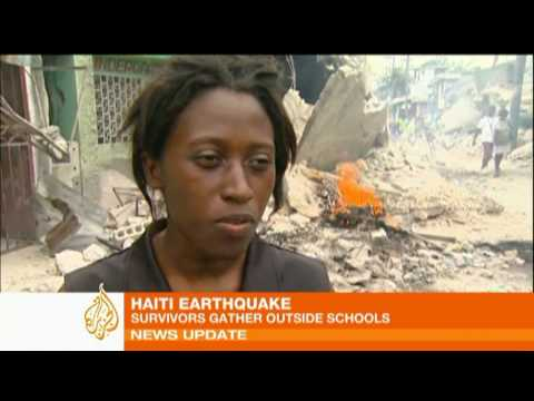 Haiti quake survivor's story of despair and loss