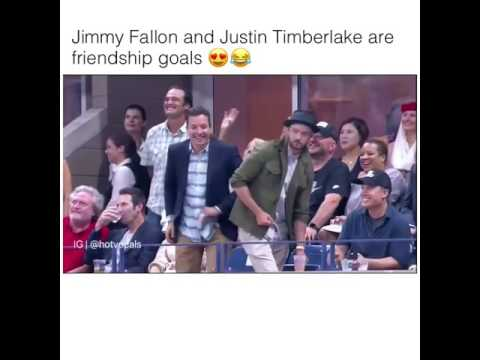 Jimmy Fallon and justin Timberlake...