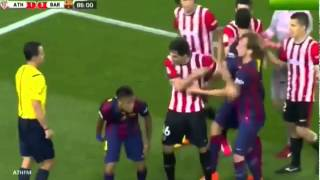 Neymar Jr Rainbow Flick vs Athletic Bilbao