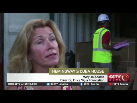 US assists Cuba in preservation of Ernest Hemingway