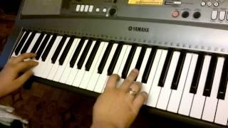 Мелодия из к/ф Цыган(игра на синтезаторе со стороны клавиш)