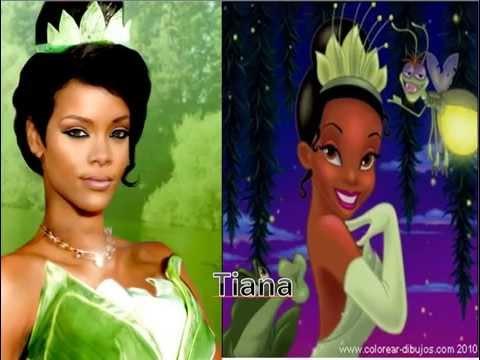 Las princesas en vida real