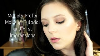 Makeup Tutorial: Models Prefer First Impressions Thumbnail