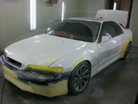 Showkingcar FRP Body Work Honda Legend Kustom Car Showkingcar - Acura legend body kit