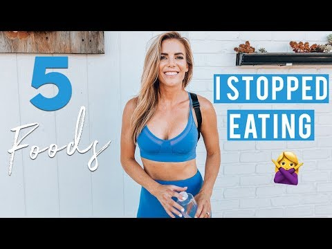 5 Foods I STOPPED Eating to Lose My Belly Pooch + De-Bloat