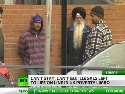 Can't Stay, Can't Go: Illegals left to struggle in UK poverty limbo