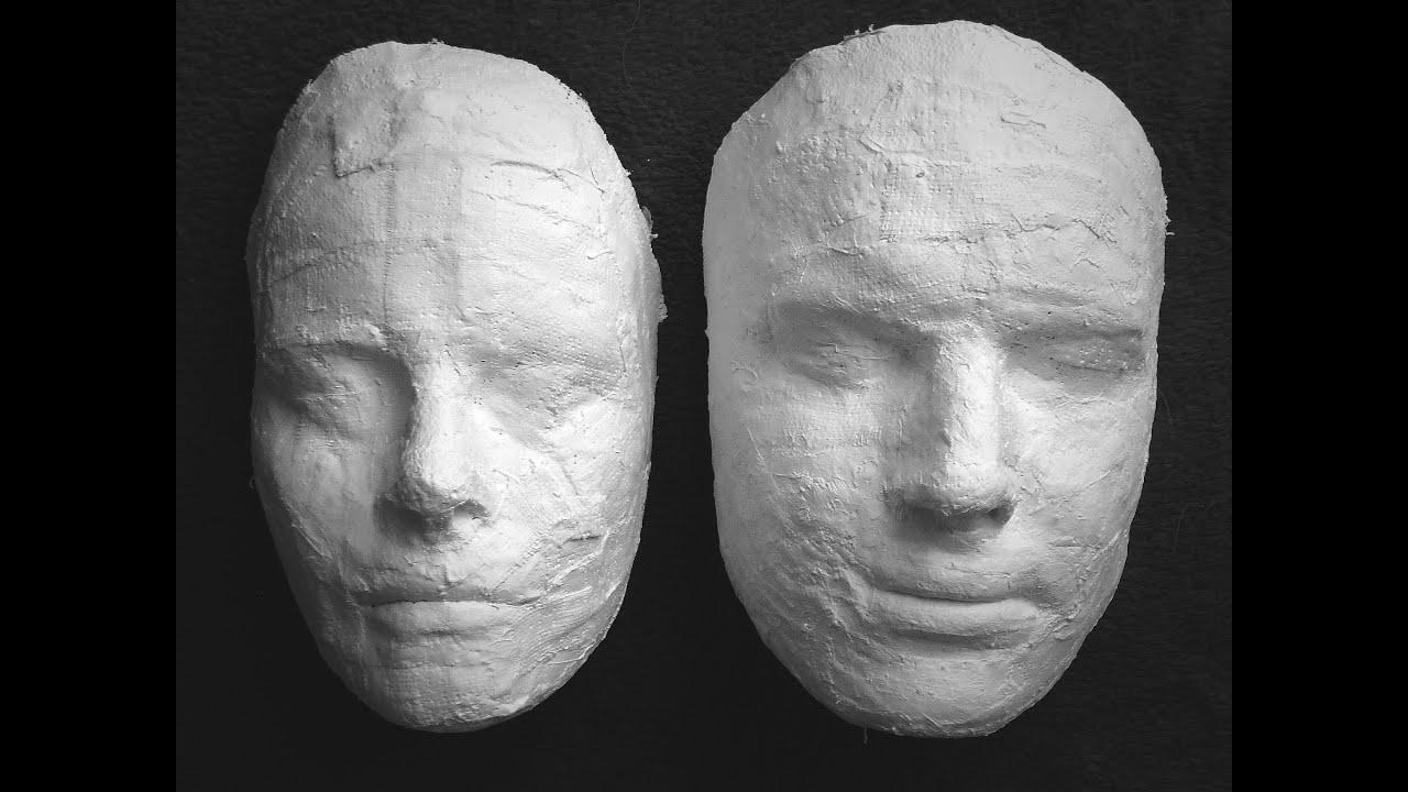 Bande De Platre Pour Masque #7: Time-lapse Moulage Empreinte Visage Plâtre - Lui Par Elle - YouTube