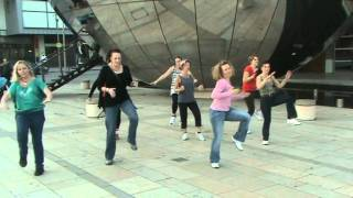 Zumba In The Nightclub Flashmob You Make Me Feel like Dancing