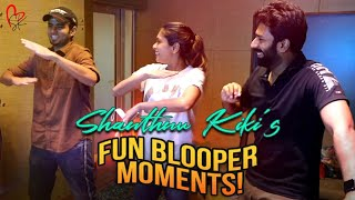 Shanthnu Kiki's Fun Blooper Moments! 😂 🤣 Ft. RJ Vijay | Enga Pore De Behind The Scenes Making
