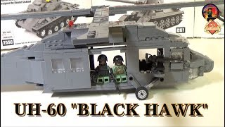 """Вертолет UH 60 """"Черный ястреб"""" -  Военная Академия, выпуск #25"""