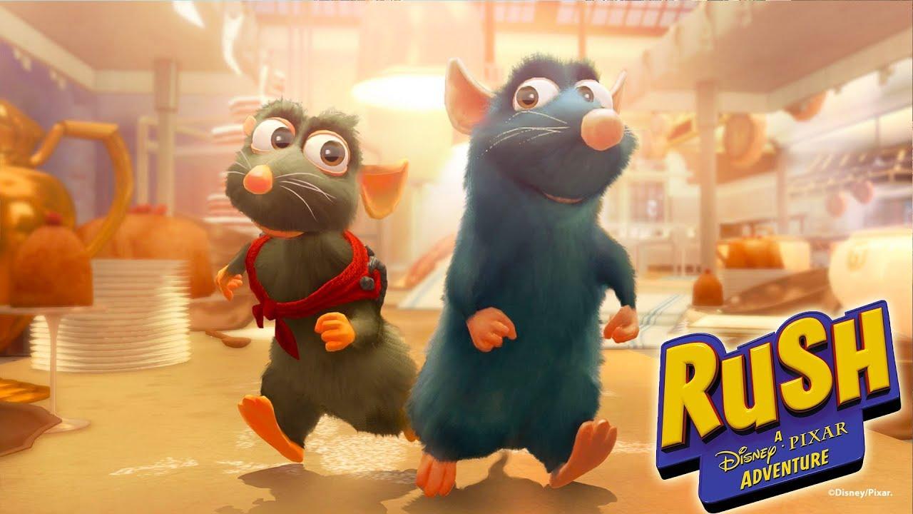 Ratatouille video di giochi cartoni animati in italiano