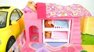 Asian Style Doll House for Barbie - New Doll Dresses Puppenhaus Maison de poupée Rumah boneka