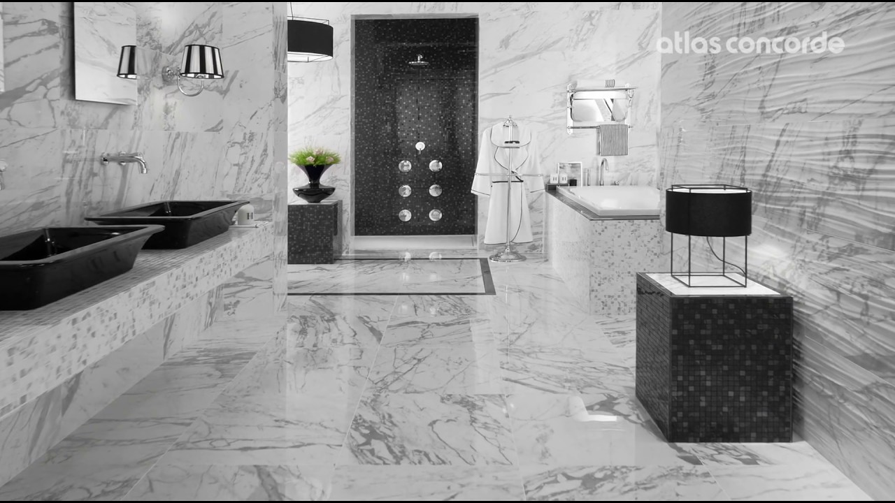 Marble Look Bathroom Statuario Select Marvel Youtube