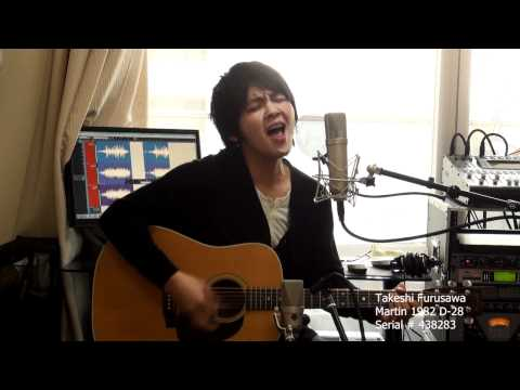 Don't Look Back In Anger oasis cover オアシス 古澤剛 1982年製 D-28 martin D28