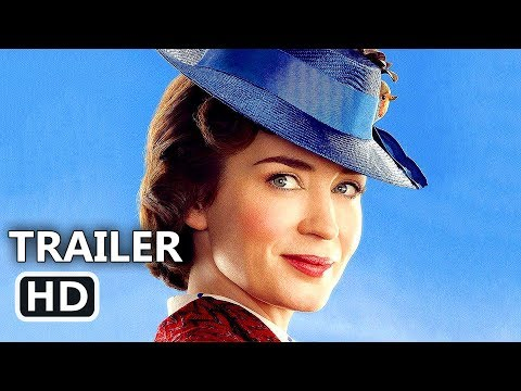 MARY POPPINS RETURNS Official Trailer TEASE (2018) Emily Blunt, Disney Movie HD