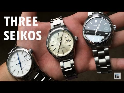 Baby Grand Seiko Battle- SARB v SDGM v SARX
