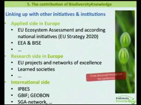 Introduction to the Biodiversity Network of Knowledge Approach