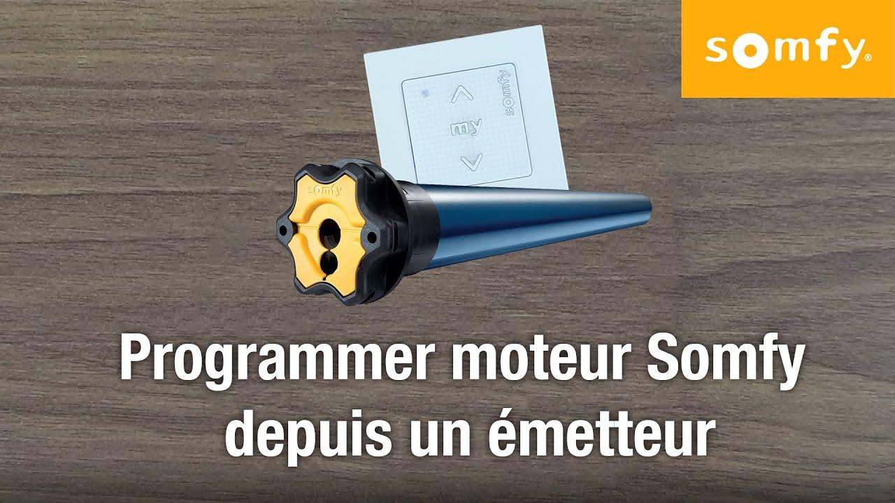 Programmer Emetteur Somfy Et Son Moteur Reinitialisation 100