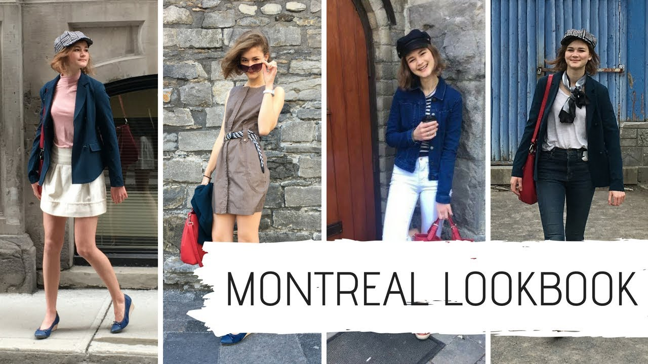 montreal travel lookbook: 7 spring outfit ideas