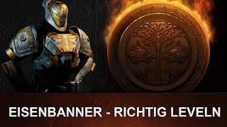 Destiny: Eisenbanner RICHTIG Ruf leveln