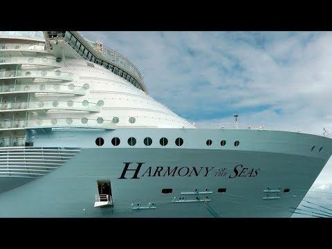[HD] 2017 Nouveau! Harmony of the Seas Tour | Le plus GROS bateau de croisière | Vacances #004