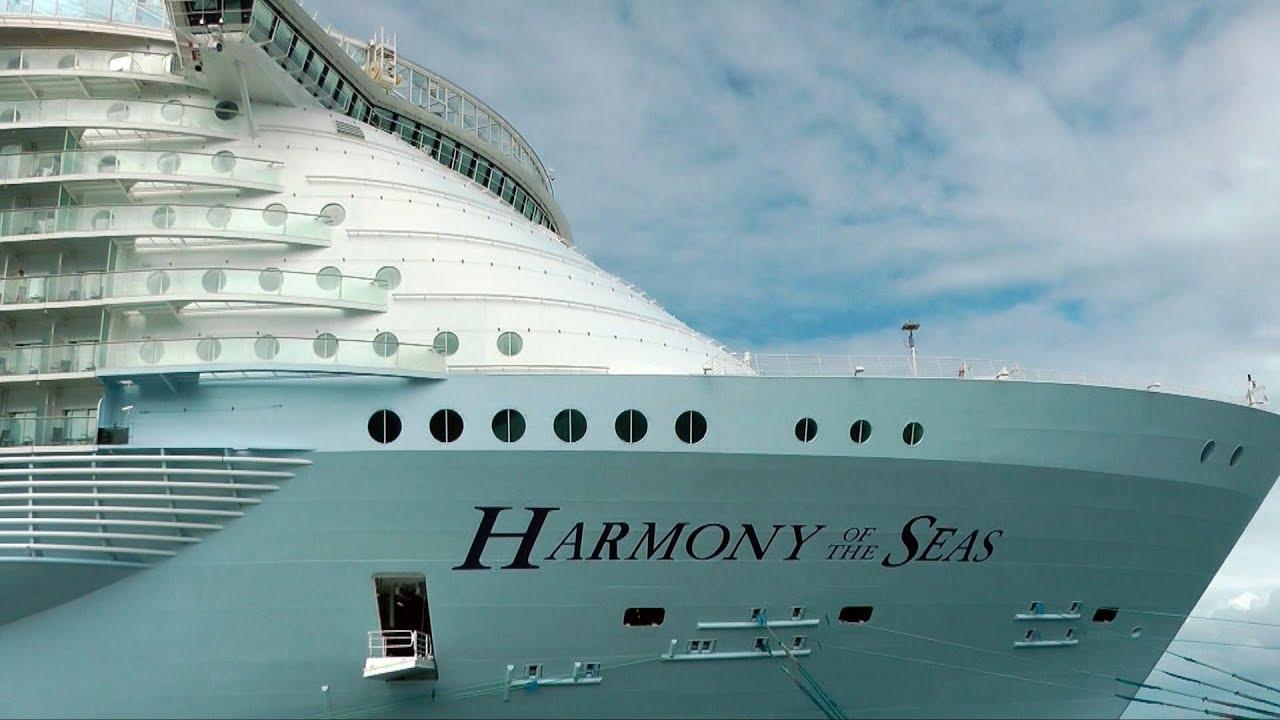 À Voir HARMONY Of The SEAS Tour Trucs Astuces Le Plus GROS - Cruise ship tricks