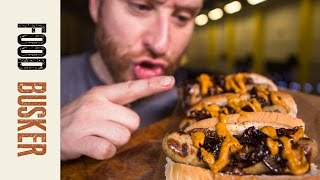 Bratwurst With Mulled Wine Onions
